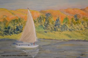Felucca on Nile image
