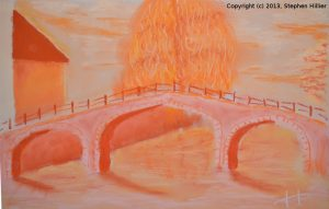 Begijnhof Bridge Orange