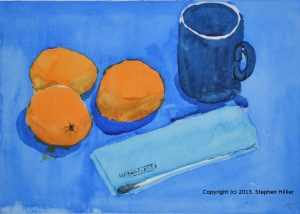 Still life in watercolour 2