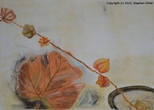 Still life in soft pastel