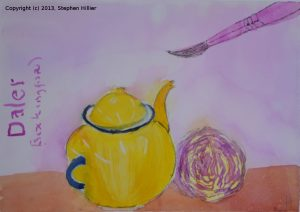 Still life in watercolour 4