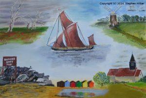 Essex(Oil Pastel)