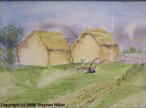 Sweet Acres in watercolour