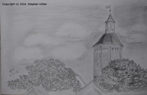 fire-tower-in-stavanger-pencil