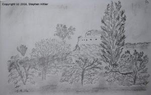petra-church-pencil